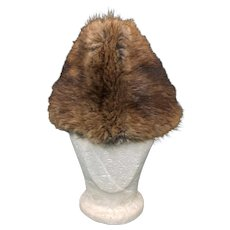 Vintage Men's Beaver Fur Hat Canada