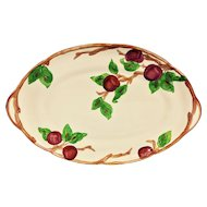 "Franciscan Apple 19"" Turkey Platter USA Mark"