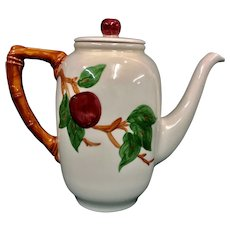 "Franciscan Apple 8 ½"" Coffee Pot"