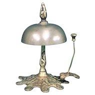Antique Victorian Brass Desk Bell c. 1800s