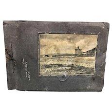 Souvenir Photo Album San Francisco, California circa 1904