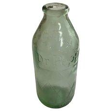 Vintage Dr. Pepper Bottle 6 oz. Grenade Style