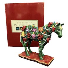 Trail of Painted Ponies Deck the Halls w/Box