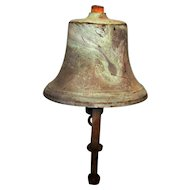Vintage Nautical Brass Ships Bell