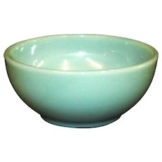Fire King Turquoise Blue Chili Bowl