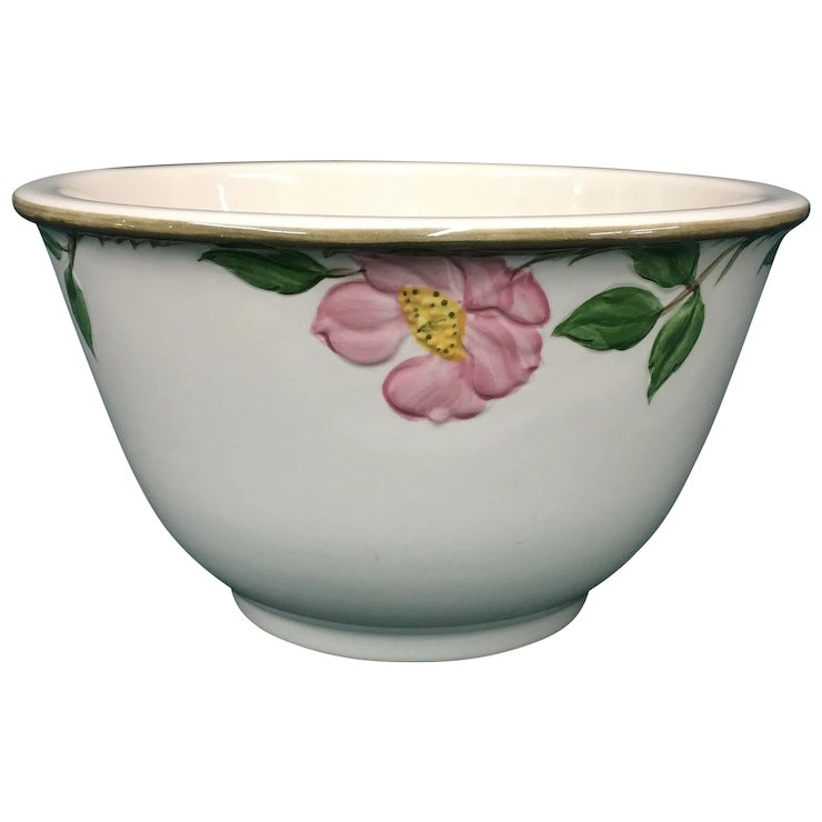 Rose dinnerwares popularity means you might as well keep and use it.