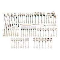 Oneida Community Brahms Stainless Flatware 66 pc. Set
