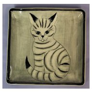 Hedi Schoop Original Cat Plaque Plate No. 21