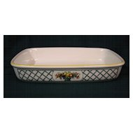 Villeroy & Boch Dinnerware Basket Pattern Baking Dish