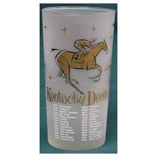 1957 Kentucky Derby Mint Julep Glass