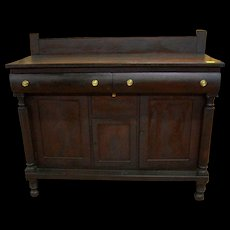 Mahogany Sideboard, Empire Federal Period, Southern