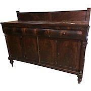 Mahogany  Federal  Sheraton Sideboard 1820s – 30s
