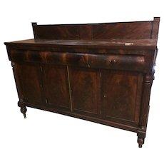 Mahogany Federal  Sheraton Sideboard 1815