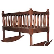 Walnut Shaker Crib