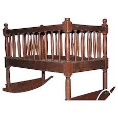 Walnut Shaker Crib