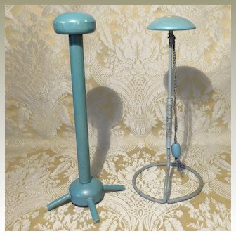 Vintage Pair of Hat Stands - 1930's - 40's