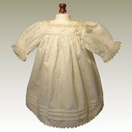 Quality Antique Dress for French Bebe or German Child Doll