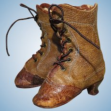 Antique Thierry Boots for Huret or Other High-End French Fashion