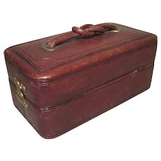 Handsome Lady's Vanity/Sewing Case - May Be Used for Doll Trunk - Red Tag Sale Item