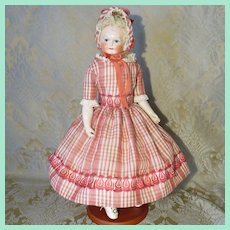 "16"" Rohmer French Fashion Doll - Unusual Face - Cabinet Ready"
