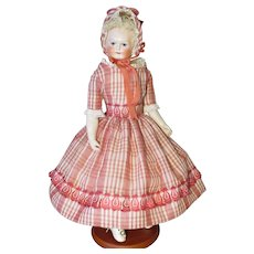 "16"" Rohmer French Fashion Doll - Unusual Face - Cabinet Ready"