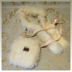 Fur Muff and Stole Set for Bebe