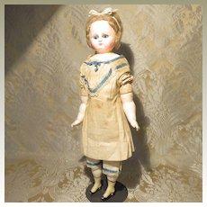Wax Over Papier Mache Doll - Original Chemise