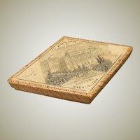 Early Antique Box - Patriotic American - US Capitol