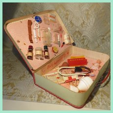 Doll Hospital Kit - 1940's - 50's - French