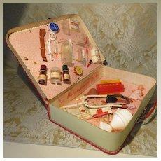 Doll Hospital Kit - 1940's - 50's - French
