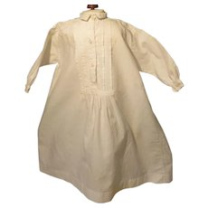 """Nightgown for 18 - 19"""" French Fashion Doll - Early and Hand Made"""