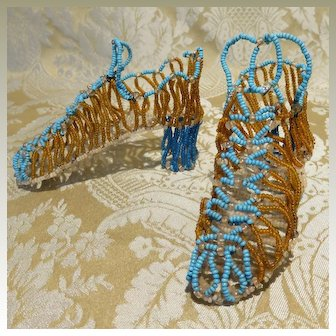 Victorian Whimsy - Beaded Shoes
