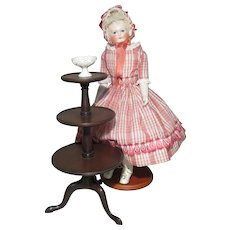 Fine 3-Tier Etagere for Doll Display - Vintage
