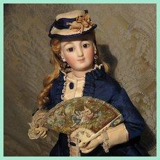 Superb Brise Miniature Fan for French Fashion