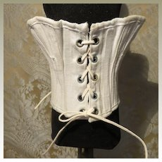 """Well-made Corset for 18 - 19"""" French Fashion Doll"""