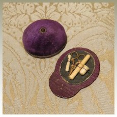 Unique Sewing Necessaire - Jockey Cap - for French Fashion