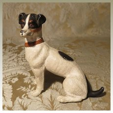Miniature Jack Russell Terrier Dog for Doll Display