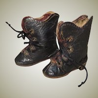 Early, High-Quality Pair of Boots for Small French Fashion