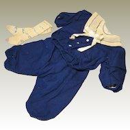 Original Antique Bebe Sailor Costume- Ernestine Jumeau?