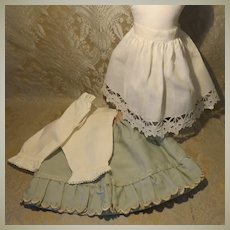 Antique Petticoats and Pantaloons for French Bebe