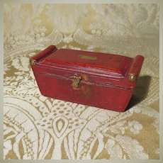 Splendid Tiny Regency Jewel / Trinket Box for Early Dolls