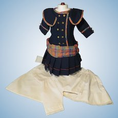 Mini Trousseau for French Bebe - Authentic Period Antique