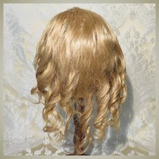 Elegant Human Hair Antique Wig for French Bebe - 12""