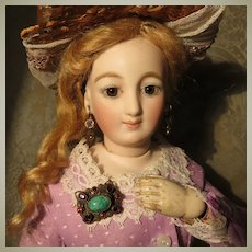 Fabulous Miniature Brooch for Antique Doll