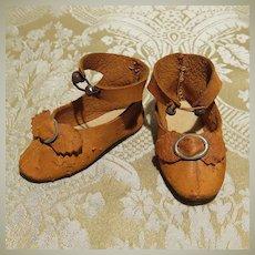 Antique Doll Shoes - Size 5