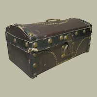 Antique French Doll Trunk - Small