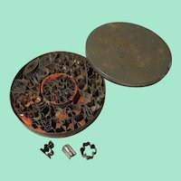 Complete Set of Early Tin Cookie Cutters for Dollhouses and Vignettes