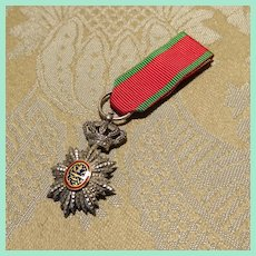 Fine Miniature Military Medal for French Fashion Doll