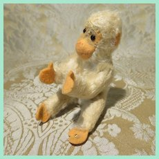 Playful Miniature Steiff Monkey - Doll Companion