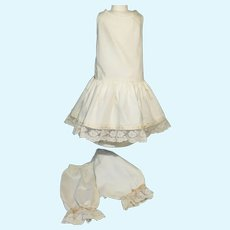 Exceptional Period Undergarment Set for French Bebe - Attributed to Jumeau